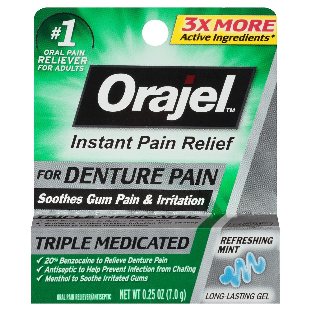 Orajel Toothache/gum Treatment - .25oz