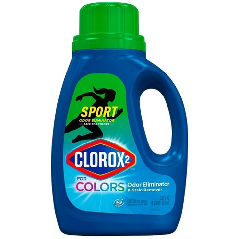 Clorox 2 for Colors Sport Odor Eliminator and Stain Remover - 33oz - image 1 of 3