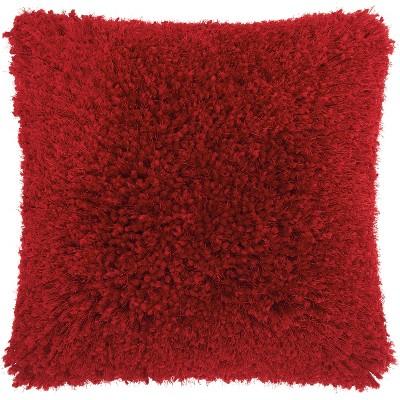 Nourison Lush Yarn Shag Throw Pillow