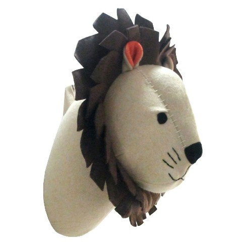 Lion Head Wall Dcor - Pillowfort™ - image 1 of 4