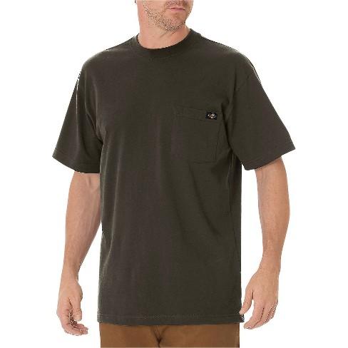 eb6e6b3b17bf ... Cotton Heavyweight Short Sleeve Pocket T-Shirt- Black Olive S. Shop all  Dickies