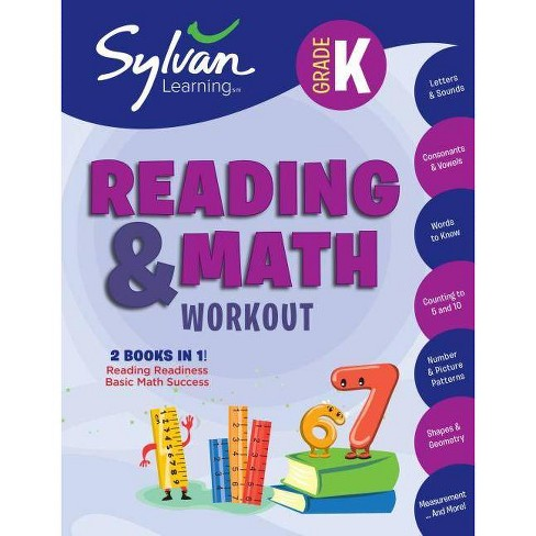 Kindergarten Reading & Math Workout - (Beginner Workbook) (Paperback) - image 1 of 1