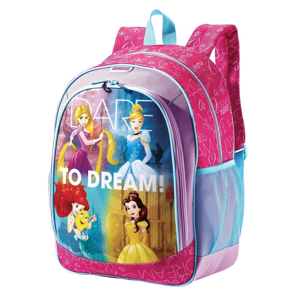 American Tourister Disney 16 Disney Princess Kids' Backpack - Pink, Multi-Colored