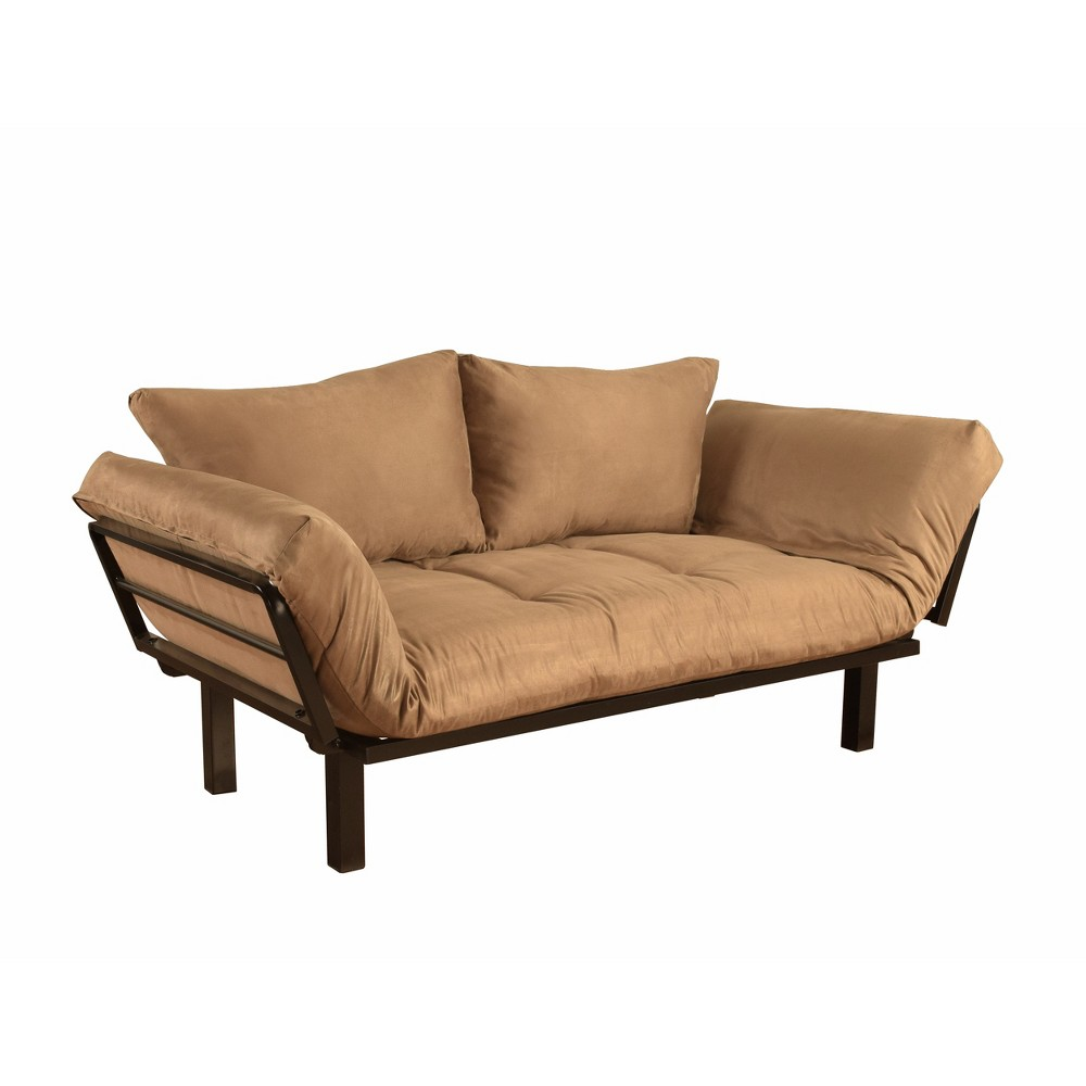 Image of Cicero Lounger Peat Suede - Dual Comfort