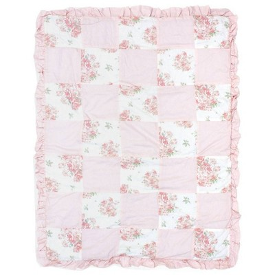 Kimberly Grant Shabby Chic Quilt - Pink