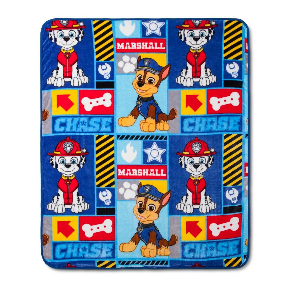 Paw Patrol Blanket Set, Multi-Colored