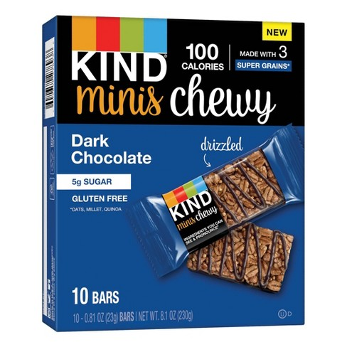 KIND Minis Chewy Dark Chocolate - 10ct - image 1 of 4