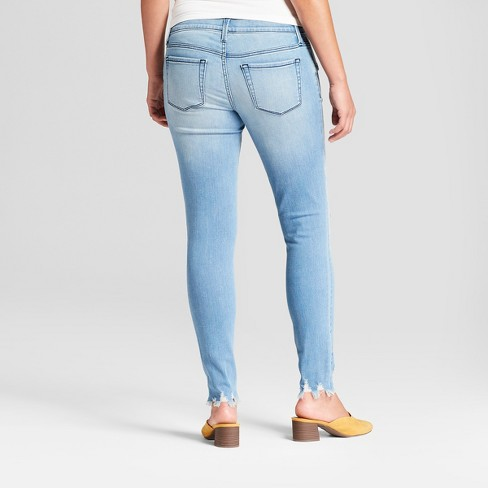 66e924b361d4a Maternity Inset Panel Skinny Jeans - Isabel Maternity By Ingrid & Isabel™ Light  Wash : Target