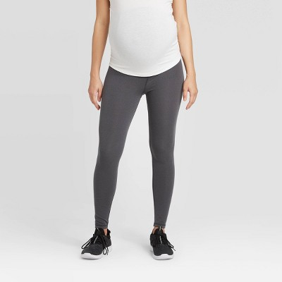 Maternity Crossover Panel Active Leggings - Isabel Maternity by Ingrid & Isabel™ Gray S