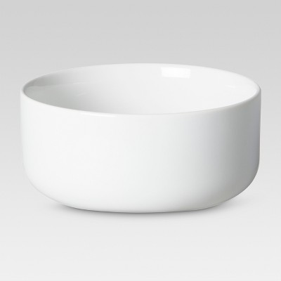 Casual Modern Cereal Bowls 25oz White - 4pc - Threshold™