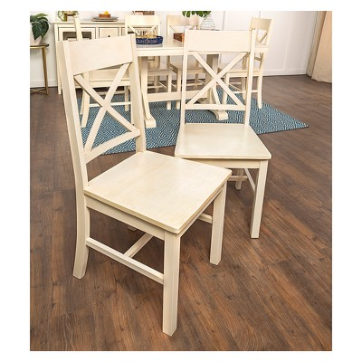 Dining Chair(Set of 2)- Antique White - Saracina Home