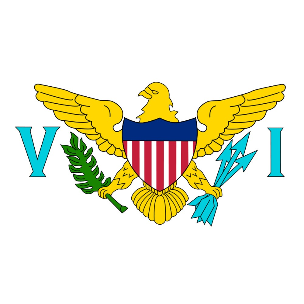 Image of Halloween US Virgin Islands Flag - 3' x 5'
