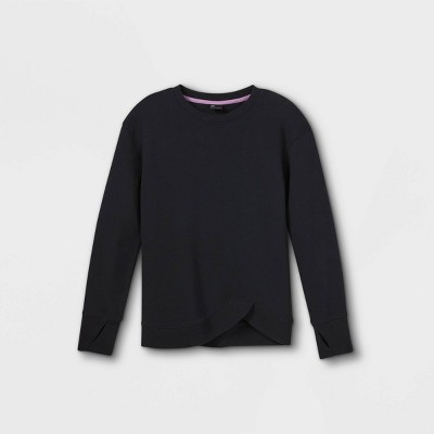 Girls' Fleece Pullover Sweatshirt - All in Motion™