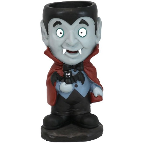 """27"""" Count Dracula Vampire Statue with Built-In Candy Dish - Sunnydaze Decor - image 1 of 4"""
