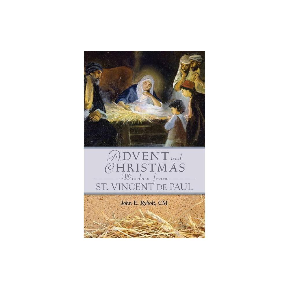 Advent And Christmas Wisdom From Saint Vincent De Paul Paperback