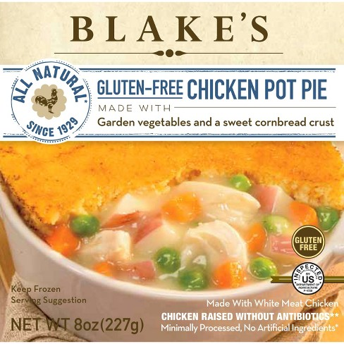 Blake's All Natural Gluten Free Frozen Chicken Pot Pie - 8oz - image 1 of 1