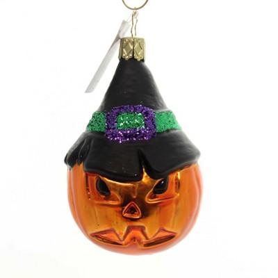 "Inge Glas 3.5"" Spooky Sight Ornament Halloween Jol Witch  -  Tree Ornaments"