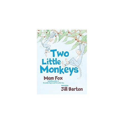 Map Australia 4371.Two Little Monkeys By Mem Fox Hardcover