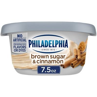 Philadelphia Cream Cheese Brown Sugar & Cinnamon - 7.5oz