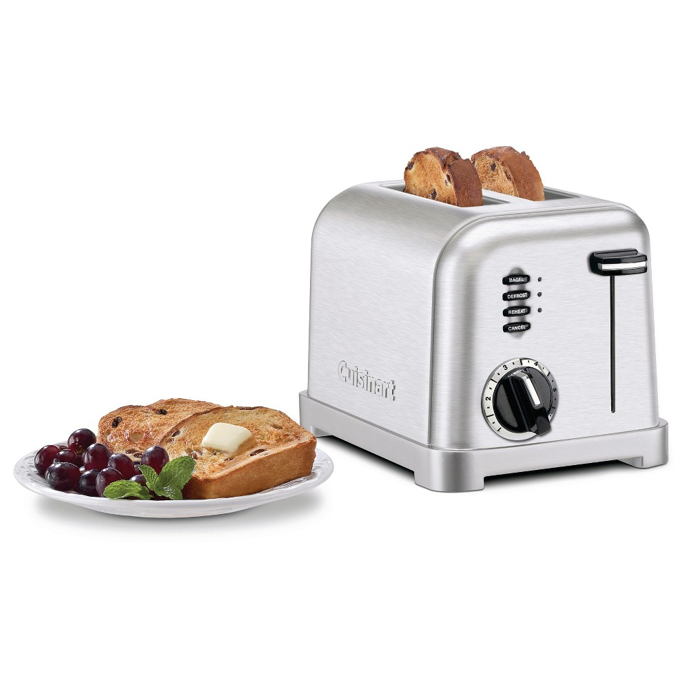 Cuisinart 2 Slice Metal Classic Toaster – Stainless Steel Cpt-160 18852358