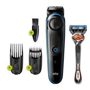 Braun Bt3240 Men S Rechargeable 39 Setting Electric Beard Hair Trimmer Target