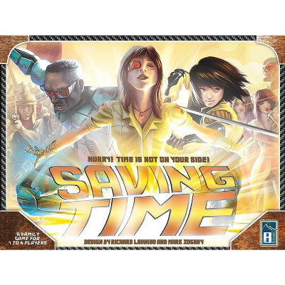 Saving Time Board Game