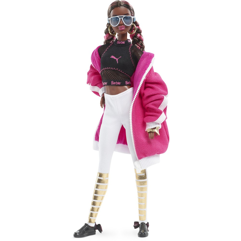 Barbie Puma 50th Anniversary Sporty Fashion Doll Pink Jacket
