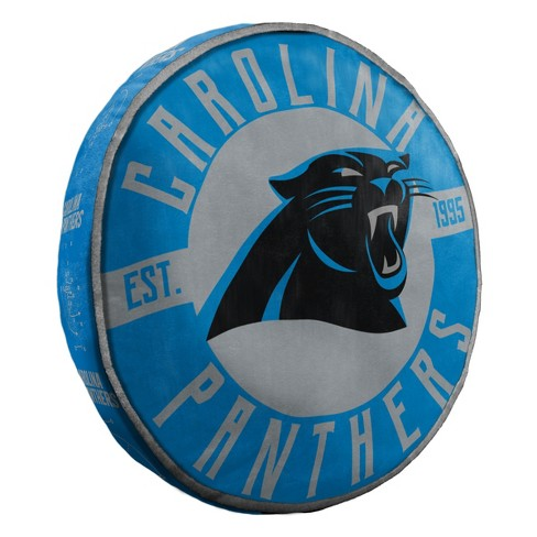 301d0976f13410 NFL Carolina Panthers Vintage Cloud Pillow : Target