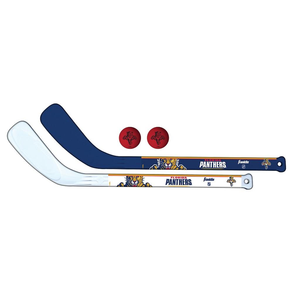 Franklin Sports Nhl Florida Panthers Mini Player Stick Set