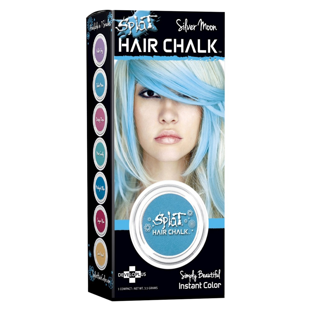 Image of Splat Hair Chalk - Silver Moon