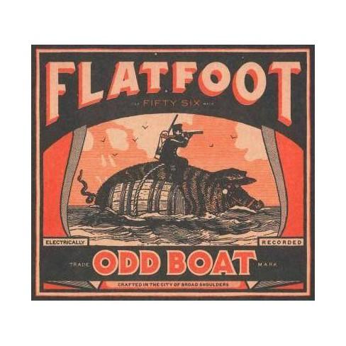 Flatfoot 56 - Odd Boat (CD) - image 1 of 1