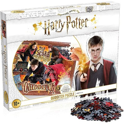 Top Trumps Harry Potter Quidditch 1000 Piece Jigsaw Puzzle