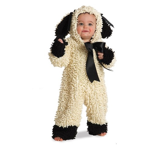 Baby Woolly Lamb Halloween Costume - image 1 of 1