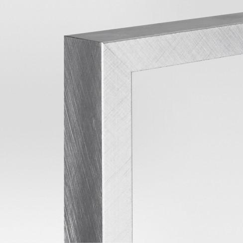 Metal Single Image Frame 8x10 Brushed Silver Project 62 Target