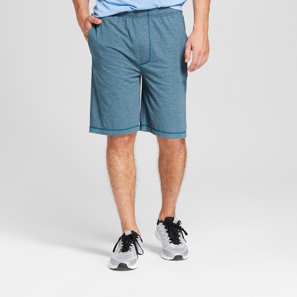 Men's Soft Touch Texture Shorts - C9 Champion Juniper Blue M