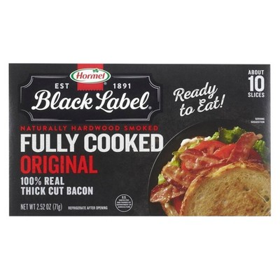 Hormel Fully Cooked Bacon Slices - 2.52oz