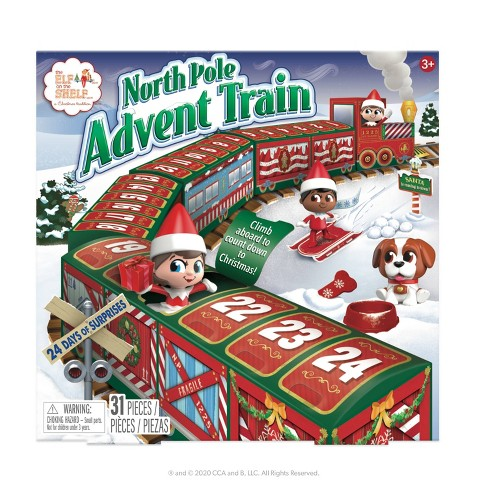 North Pole Advent Train - image 1 of 4