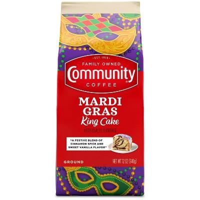 Community Coffee Carnivale Cake Medium Roast Coffee - 12oz