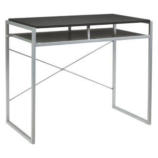 Bertmond Home Office Desk Black/Silver - Signature Design by Ashley