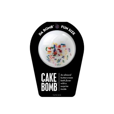 Da Bomb Bath Fizzers Cake Bath Bomb - 3.5oz