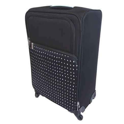"designlovefest 26"" Spinner Suitcase - Black - image 1 of 5"