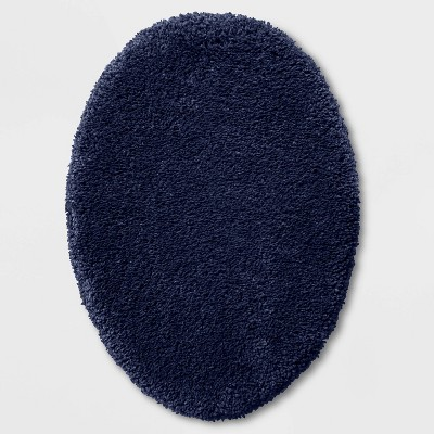 Performance Elongated Lid Navy Blue - Threshold™