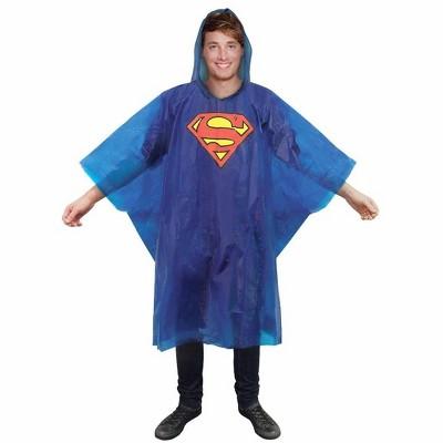 Paladone Products Ltd. DC Comics Superman Hooded Rain Poncho