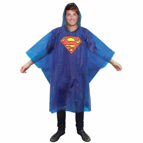 Paladone Products Ltd. DC Comics Superman Hooded Rain Poncho - image 1 of 2