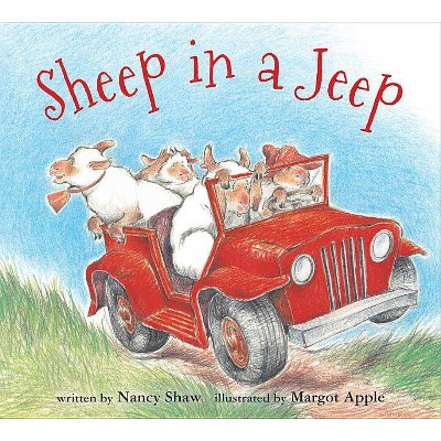Sheep in a Jeep ( Sheep in a Jeep)by Nancy E. Shaw (Board Book)