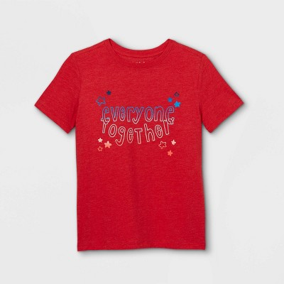 Boys' Graphic Short Sleeve T-Shirt - Cat & Jack™ Bright Red