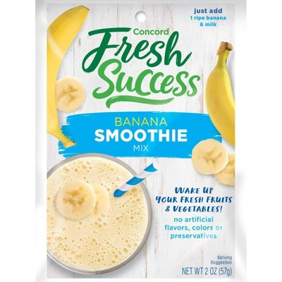 Concord Foods Banana Smoothie Mix - 2oz
