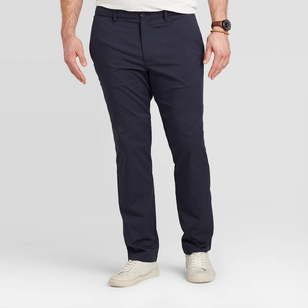 Men 39 S Big 38 Tall Slim Chino Pants Goodfellow 38 Co 8482 Blue 44x36