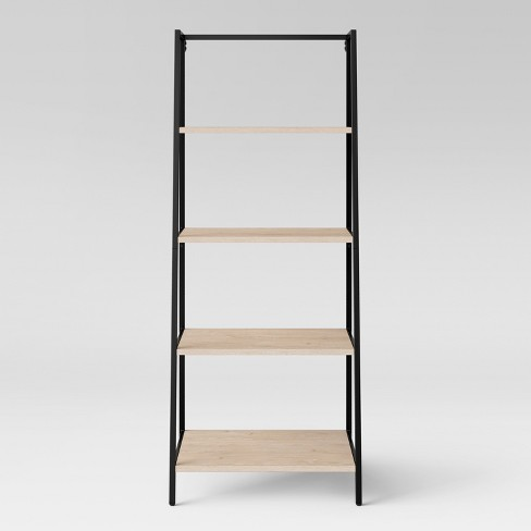 60 Loring 4 Shelf Trestle Bookcase