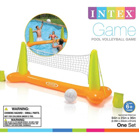 Intex 56508Ep Inflatable Floating Swimming Pool Toys Volleyball Game ...